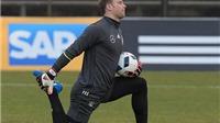 Neuer vắng mặt trận gặp Italy, Khedira làm thủ quân tuyển Đức