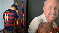 8 vị Chủ tịch Barca sẽ hội ngộ trong trận đấu tưởng niệm Johan Cruyff