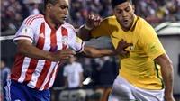 Paraguay 2-2 Brazil: Vắng Neymar, Brazil 'chết hụt' trước Paraguay