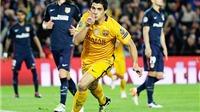 Barcelona 2-1 Atletico Madrid: Suarez tỏa sáng, Barca ngược dòng thành công