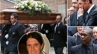 CHÙM ẢNH: Các cựu danh thủ bóng đá đến dự tang lễ của cha của Paolo Maldini