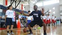 5500 trẻ em được huấn luyện bóng rổ miễn phí
