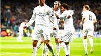 Real Madrid 3-0 Wolfsburg (chung cuộc 3-2): Một mình Ronaldo đưa Real vào bán kết