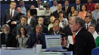 Đối thoại trực tuyến với người dân, Putin khẳng định Mỹ đứng sau vụ 'Hồ sơ Panama'