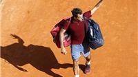 Federer bị Tsonga loại ở tứ kết Monte Carlo Masters