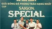 BLV Quang Huy sẽ bình luận tại giải hạng Nhất phủi