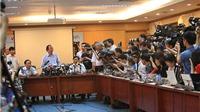 Về vụ cá chết: Bộ TN&MT 'đề nghị báo chí cần bình tĩnh, khách quan và có trách nhiệm'