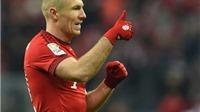 Arjen Robben không phải nghỉ hết mùa