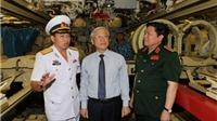 Tổng Bí thư Nguyễn Phú Trọng thăm, làm việc tại Vùng 4 Hải quân