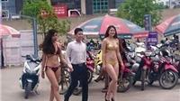 Hà Nội sẽ xử phạt vụ 'mặc bikini quảng cáo sản phẩm'
