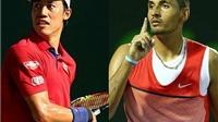 Madrid Open 2016: Hạ Kyrgios, Nishikori vào Bán kết