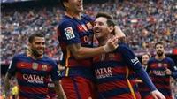Cuộc đua vô địch Liga: MSN tỏa sáng, Ronaldo bùng nổ, Atletico sụp đổ