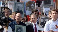 VIDEO: Tổng thống Nga Putin dẫn đầu cuộc diễu hành 'Trung đoàn Bất tử'