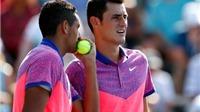 Tennis ngày 10/5: Nick Kyrgios bênh vực Tomic Bernard. Tsonga rút lui do chấn thương