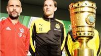 Pep Guardiola: 'Bayern vẫn rất khát khao'.Tuchel: 'Dortmund mới vào chung kết mà thôi'