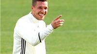 Podolski: 'Tôi không tới EURO để làm linh vật'