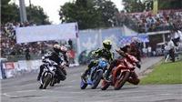 Giải mô tô chuyên nghiệp VĐQG 2016: Sân Cao Lãnh nảy lửa vì đua xe