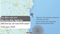 ĐỒ HỌA: Máy bay Su-30MK2 mất liên lạc khi làm nhiệm vụ bay huấn luyện
