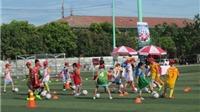 Trại hè bóng đá Toyota 2016 kết thúc vòng sơ tuyển ở Vinh