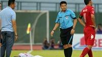 Trọng tài lại bị chỉ trích tại Cup quốc gia