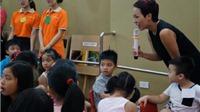 Ca sĩ Thái Thùy Linh lập trại hè nghệ thuật cho trẻ