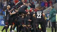 Vì sao chỉ có 3 điểm, Albania vẫn mơ vào vòng 1/8?