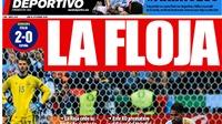 Báo chí Tây Ban Nha chê bai đội tuyển
