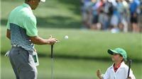 Con trai Tiger Woods á quân giải trẻ: Trong hình dáng  'Cọp con'