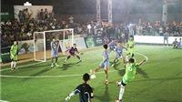 Đà Nẵng sôi động với Giải bóng đá Cúp Bia Sài Gòn 2016