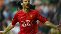 Nhìn lại những hình ảnh huy hoàng của Ryan Giggs trong màu áo Man United