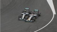 Hamilton đổ lỗi cho Nico Rosberg sau va chạm ở Grand Prix Áo
