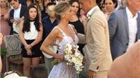 Vượt qua scandal, cô dâu của Marquinhos lộng lẫy trong lễ cưới
