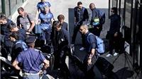 Tuyển Italy về nước trong sự chào đón của các tifosi