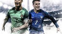 Cuộc chiến số 7: Tại EURO này, Griezmann xuất sắc hơn Ronaldo