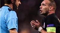 Wesley Sneijder bị Galatasaray phạt gần 2 triệu bảng vì lý do khó tin