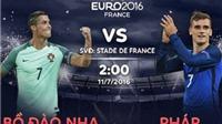 Ký sự EURO 2016 ngày 10-7: Ronaldo sẽ giúp Bồ Đào Nha giải lời nguyền của Pháp