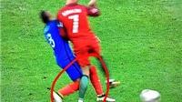 CẬN CẢNH pha vào bóng của Payet khiến Cristiano Ronaldo rời sân sớm