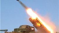 Triều Tiên phóng tên lửa vào biển Nhật Bản