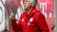 Carlo Ancelotti tuyên bố Bayern Munich không cần mua sắm nữa