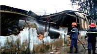 Cháy xưởng sản xuất đồ chơi trẻ em, hàng trăm công nhân tháo chạy