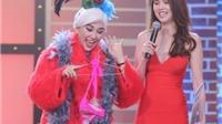 VIDEO: Hari Won nổi cơn ghen, tặng Ngọc Trinh bikini nóng bỏng