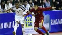Futsal Việt Nam hòa Ai Cập, đàn em Công Phượng thua đậm