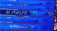 CLIP: Michael Phelps bơi nhanh như cá, đoạt HCV thứ 4 ở Rio 2016