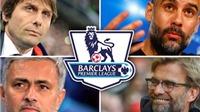 Conte, Klopp, Mourinho và Guardiola: Ai có màn ăn mừng ĐIÊN nhất?