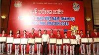 Đoàn thể thao Việt Nam được gì ở Olympic 2016?