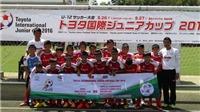 Khóa sổ mùa hè với 'Trại hè bóng đá Thiếu niên Toyota 2016'