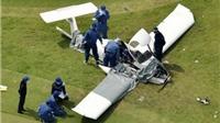 Máy bay đâm tàu lượn ở lễ hội hàng không