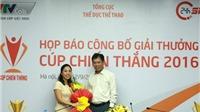 Hoàng Xuân Vinh được đề cử Cúp Chiến thắng