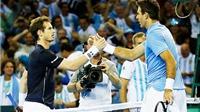 Bán kết Davis Cup 2016:  Hạ Murray, Del Potro báo thù thành công