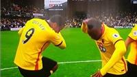 Cầu thủ Watford ăn mừng như trêu ngươi Pogba